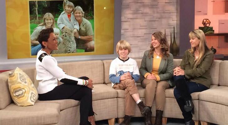 Bindi Irwin promotes Sea World on Good Morning America