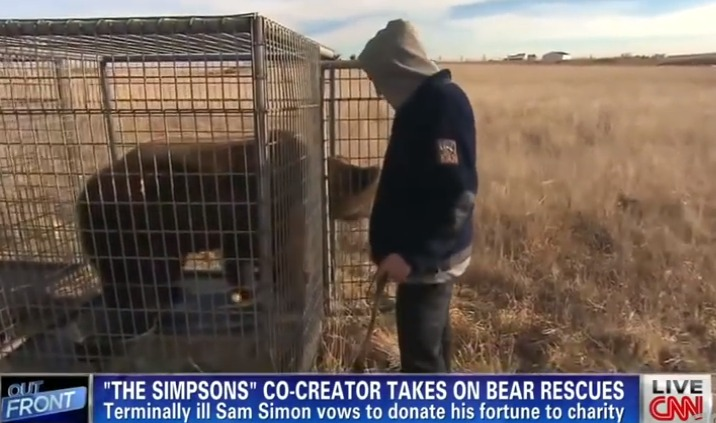 Sam Simon bear liberation