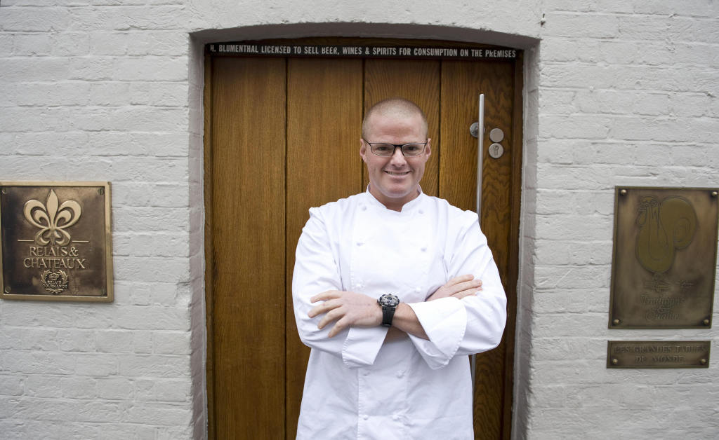 Chef Heston Blumenthal at Fat Duck in the U.K. (photo: BEN STANSALL/AFP/Getty Images)