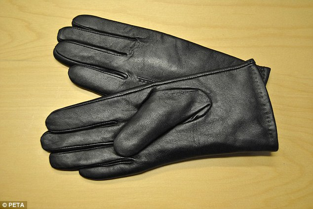 Dog skin gloves