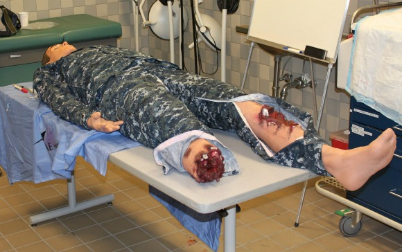 Studies show human simulators more useful than live animals in trauma training