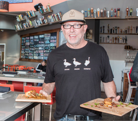 Greedy, Heartless Owner of Hot's Kitchen, Sean Chaney, Sued to Legalize Foie Gras (photo: easyreadernews.com)