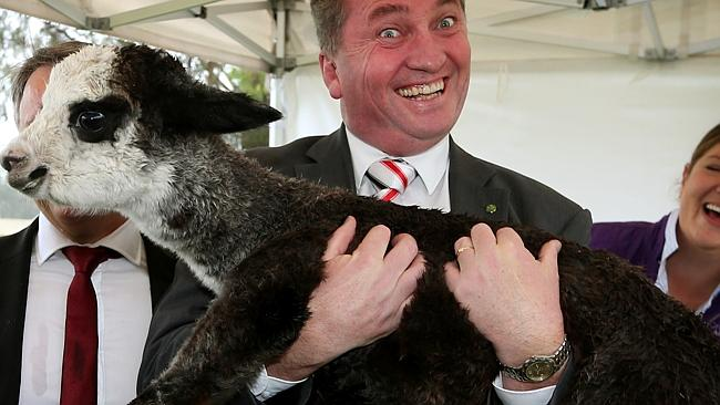 Barnaby Joyce, Australia's Minister of Agriculture