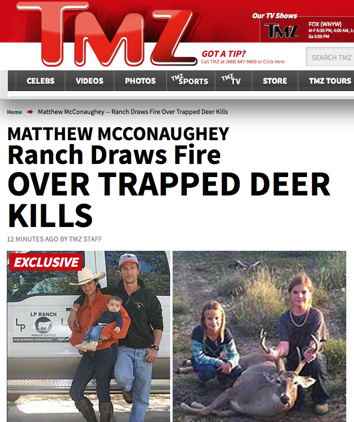 McConaughey_TMZ_hunting