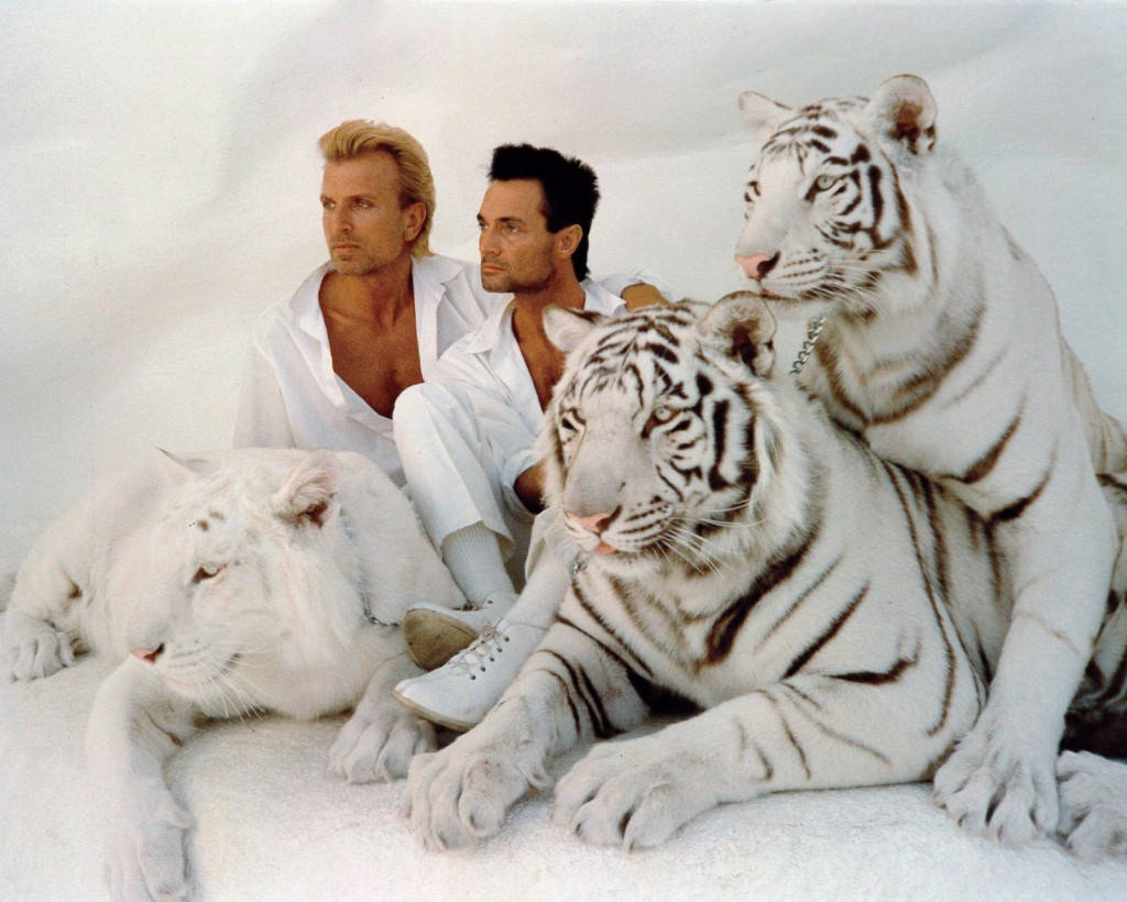 Siegfried & Roy (photo: Las Vegas Sun)