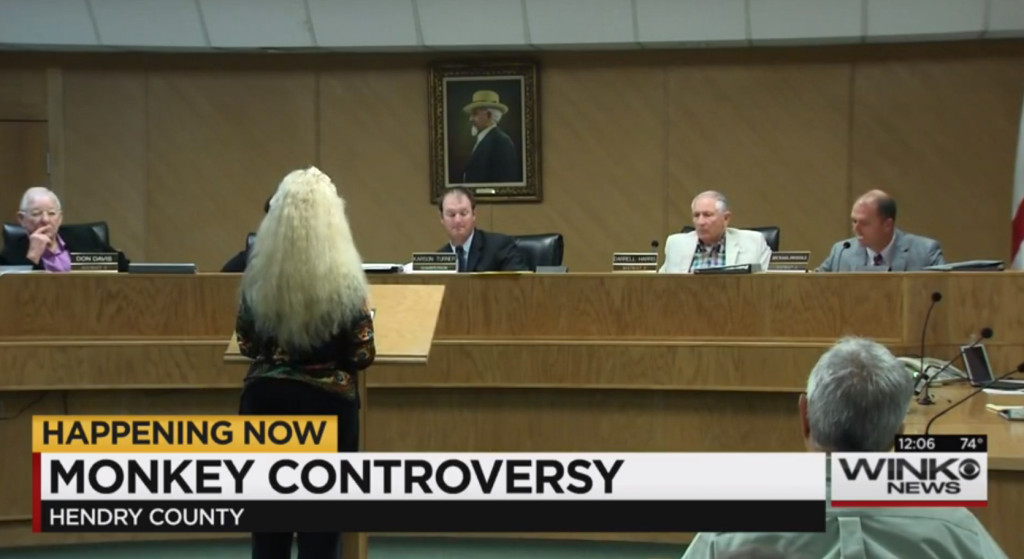 Resident of Hendry County are now attending public meetings to air their opposition to the new monkey breeding facilities