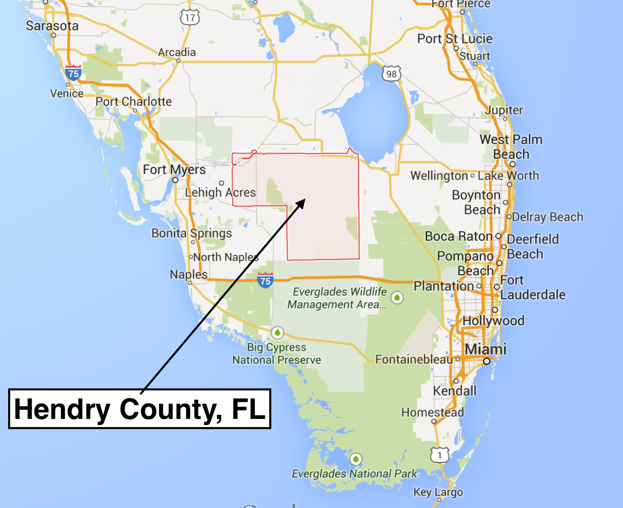 hendry county florida map
