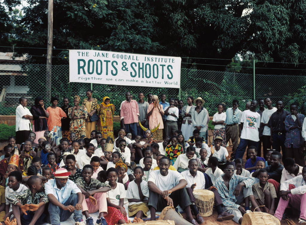 Roots & Shoots has chapters in 130 countries