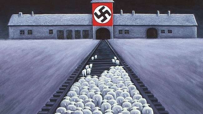 animal concentration camp