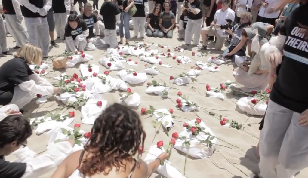 Animal rights activists pay their respects