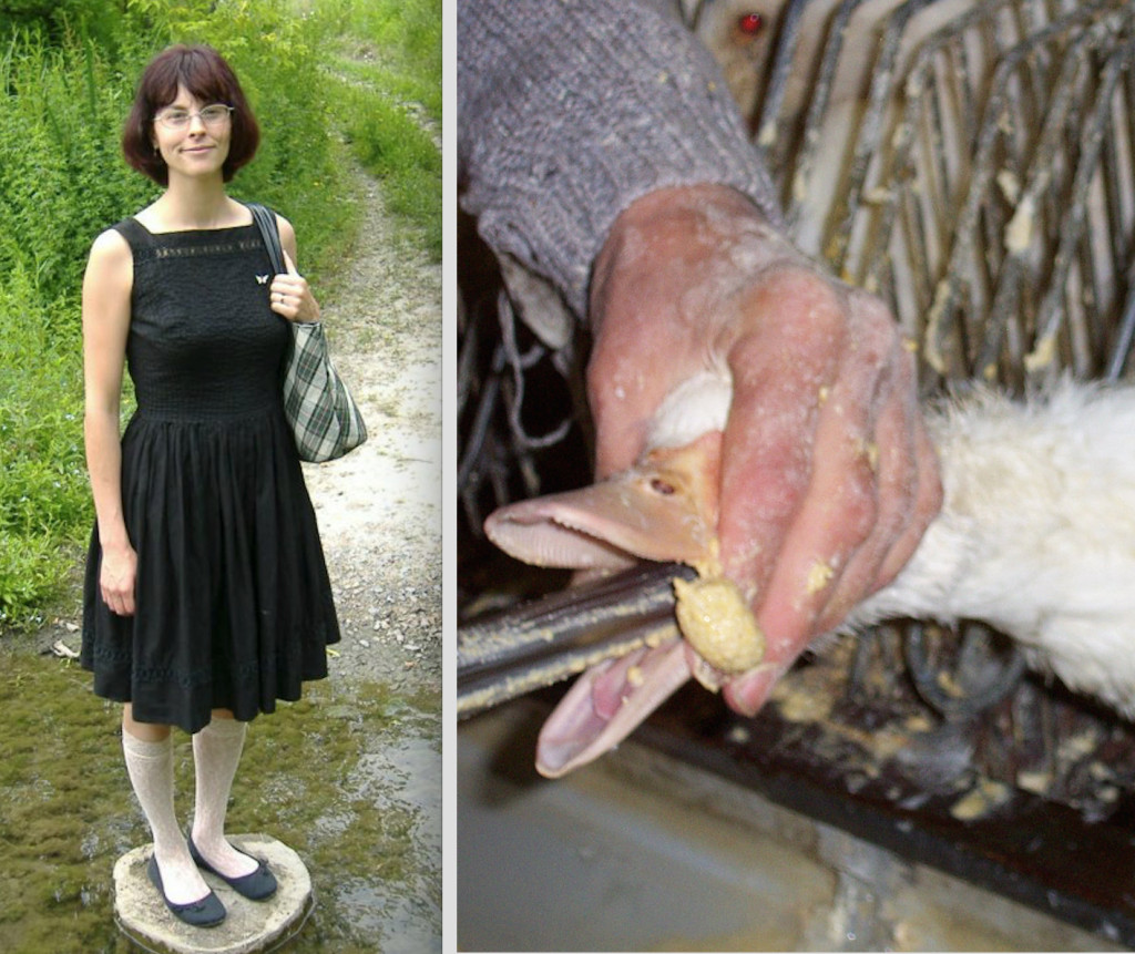 Amber Canavan entered Hudson Valley Foie Gras to document and expose the cruelty