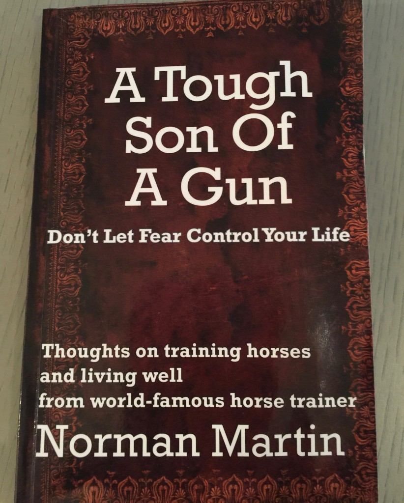 """In his book, A Tough Son of a Gun, Norman Martin explains how he's far more than tough on the NYC carriage horses he """"trains."""""""