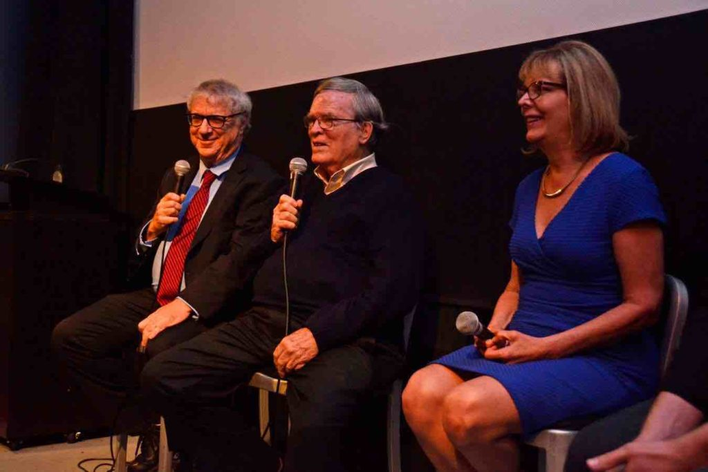 From left to right: NhRP President Steven Wise and Unlocking The Cage filmmakers D.A. Pennebaker and Chris Hegedus