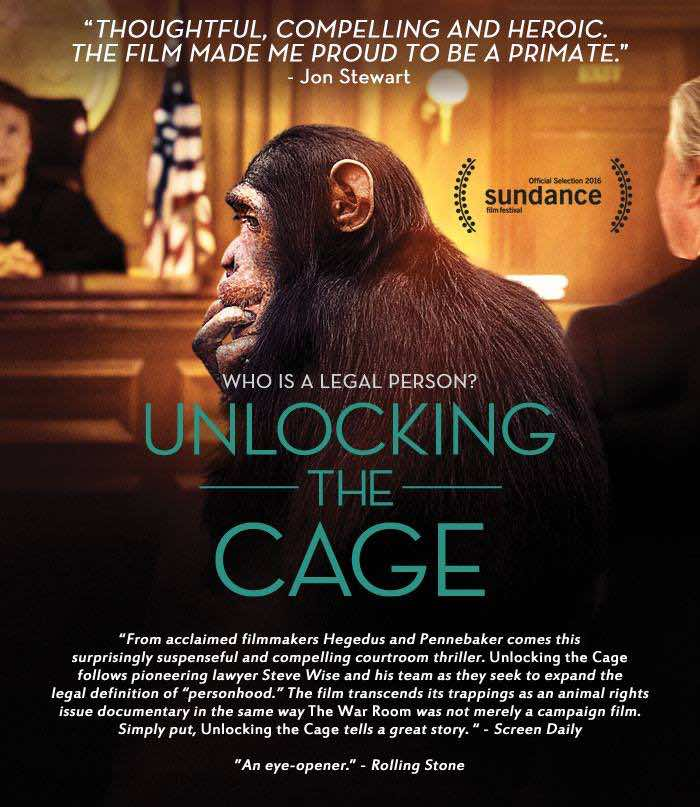Unlocking The Cage premiered in NYC on June 25th.